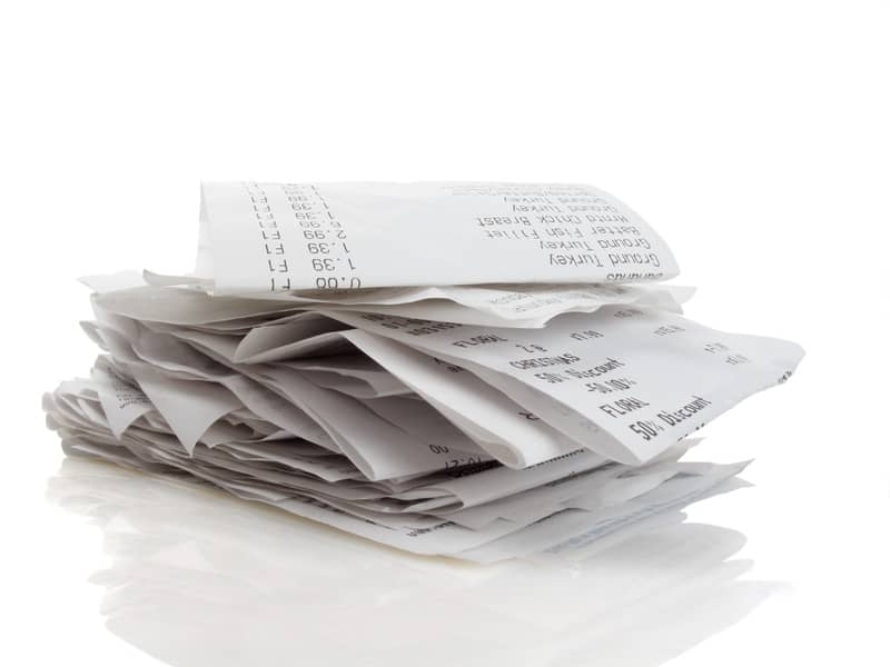 Do I Need to Keep Every Receipt for My Bookkeeper?