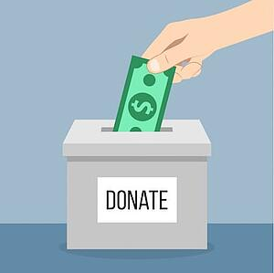 in kind donations