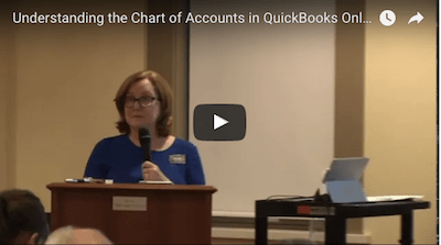 Video: Understanding the Chart of Accounts in QuickBooks Online